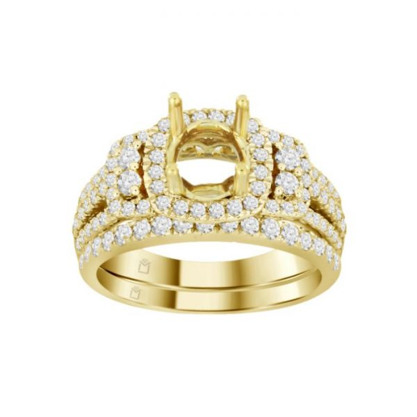 GOLDEN DIAMOND RING