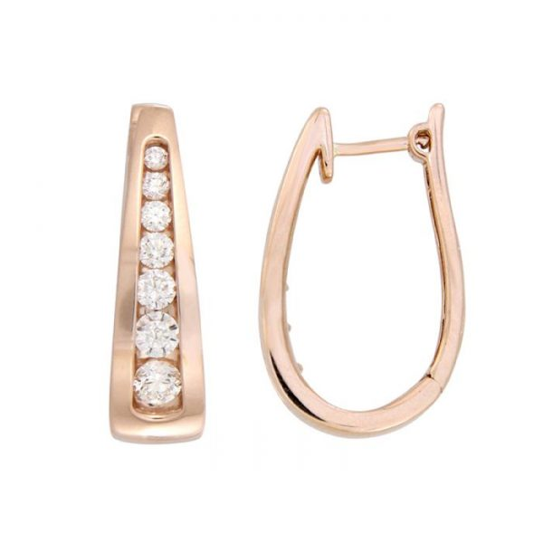 ROSE GOLD EARINGS
