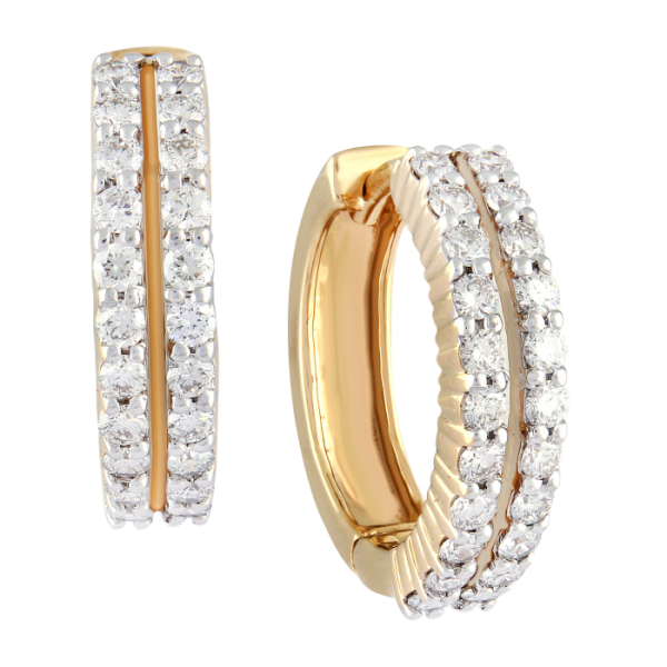 HOOP DIAMOND RINGS