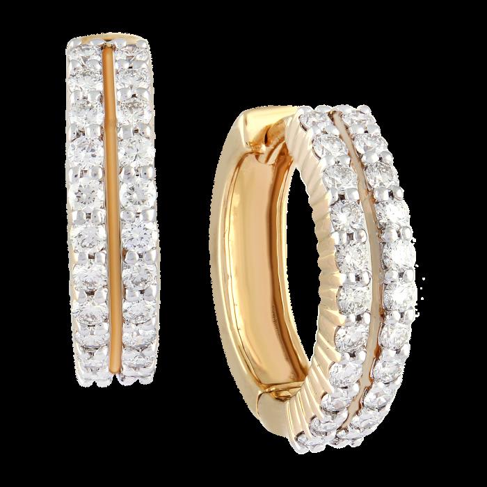 HOOP DIAMOND RINGS
