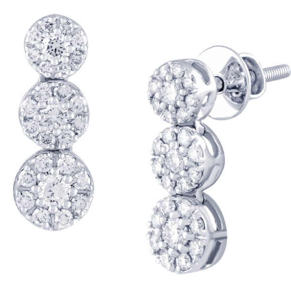 DIAMOND EARRING TOPS